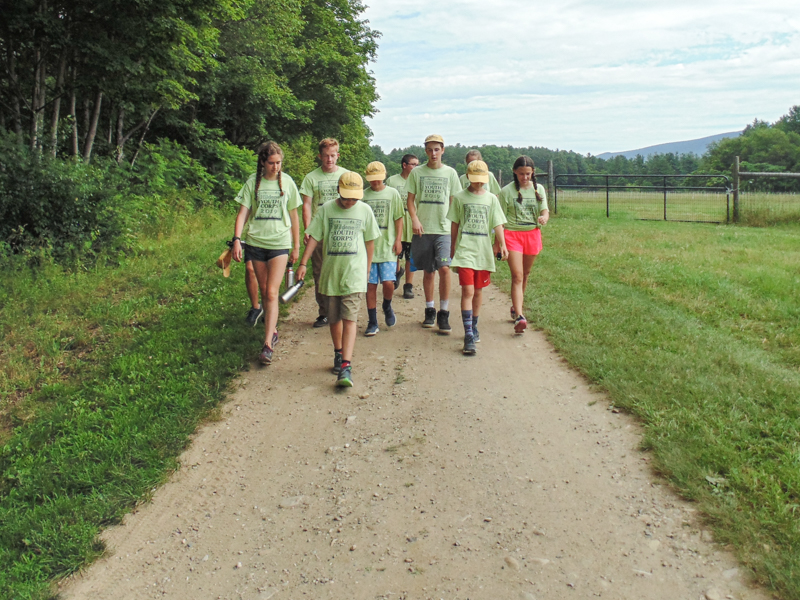 Hildene Youth Corps, from one task to the next