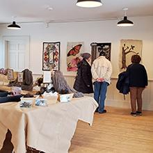 exhibit visitors_Beckwith Room_December 2019