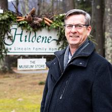 Brian Keefe, President, Hildene, The Lincoln Family Home