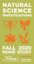 Natural Science Investigations at Hildene, Home Study kits 2020