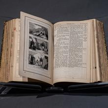 Amos King bible, gifted to Abraham Lincoln