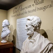 The American Ideal exhibit