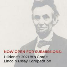 Hildene's Lincoln Essay Competition 2021