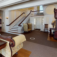 snapshot from virtual tour experience, Hildene home